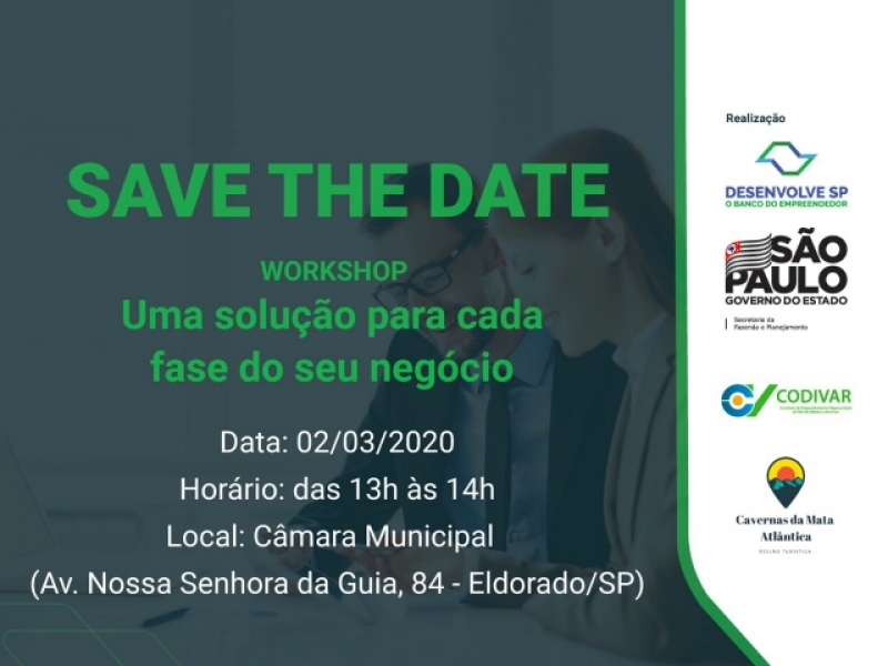Workshop | Save the date